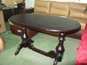 Обеденный раскладной овальный стол Рио
