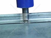 Пуклевочный инструмент для клинч-соединения металла