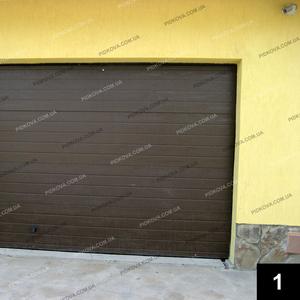 Кованые гаражные ворота ГВ-01