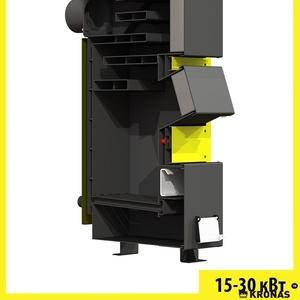 Котел на твердому паливі серії Kronas Unik - 15 кВт