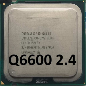 Процессор Intel Core 2 Quad Q6600 G0 SLACR