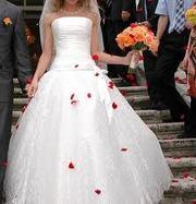 Продам платье свадебное, белое.
